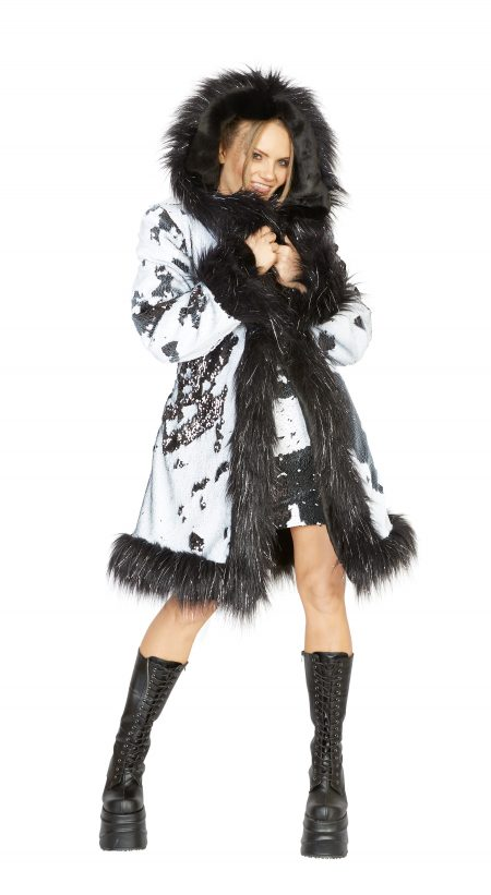 Always Classy faux fur coat