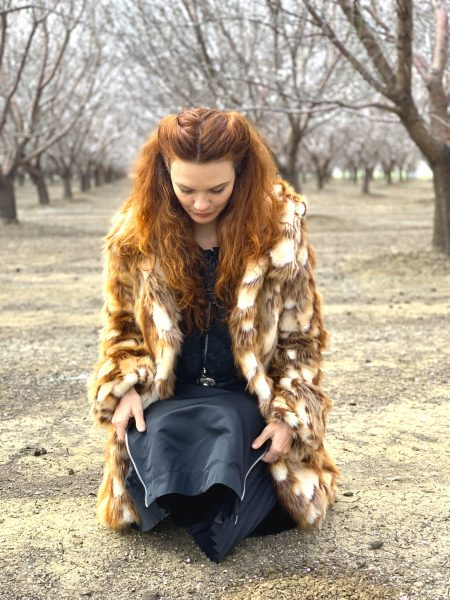 Brida faux fur coat | BOHO coats
