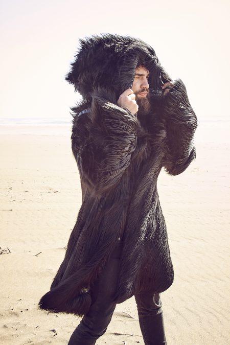 Black Wolf Playa Coat Men