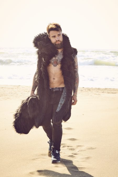 Black Wolf Playa Coat Men