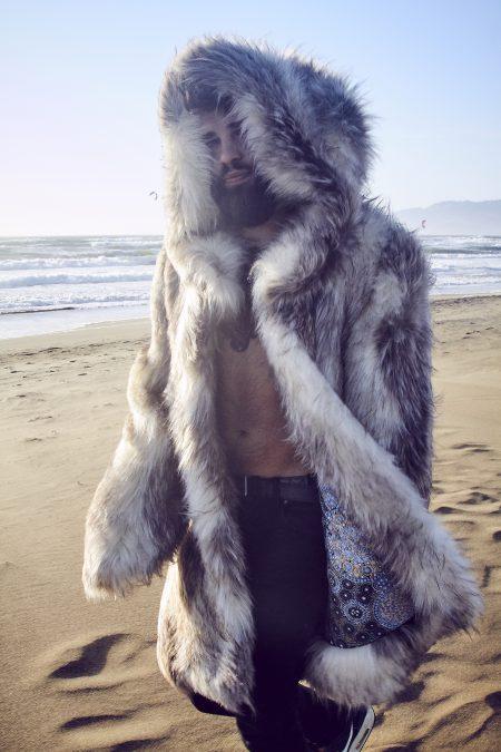 Lord Of Wolves Burning Man Jacket