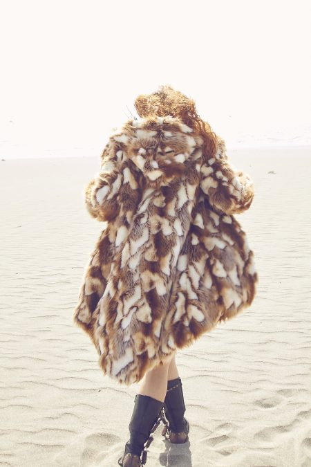 Brida Faux Fur Jacket