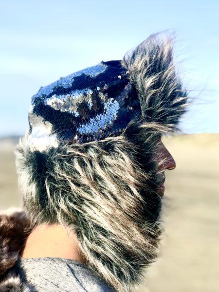 Mr. Grey Hat Fur Ushanka