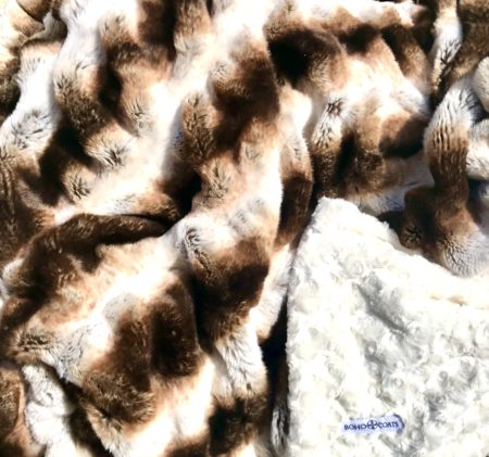 fur throw blanket