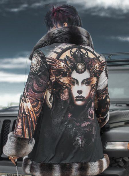 Goddess Of Dust Android Jones coat