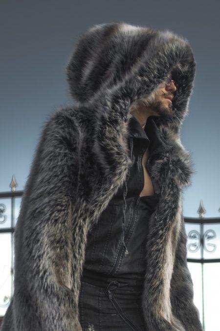 Twilight Wolf Mens coat