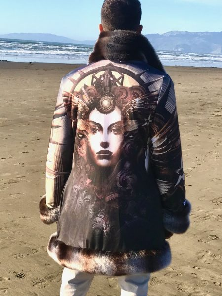 Goddess of Dust fur coat